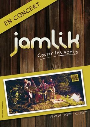 haut affiche jamlik en concert chanson française