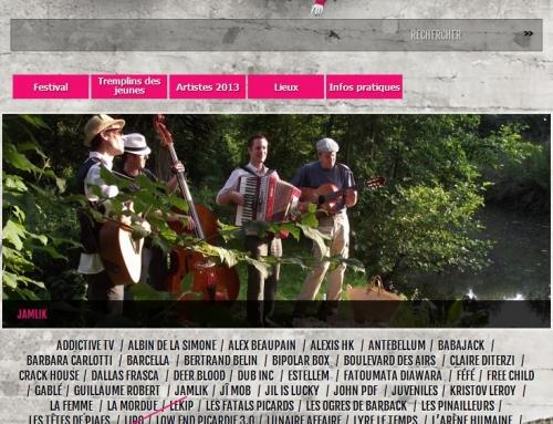 Au festival Picardie mouv – Breteuil (Picardie)