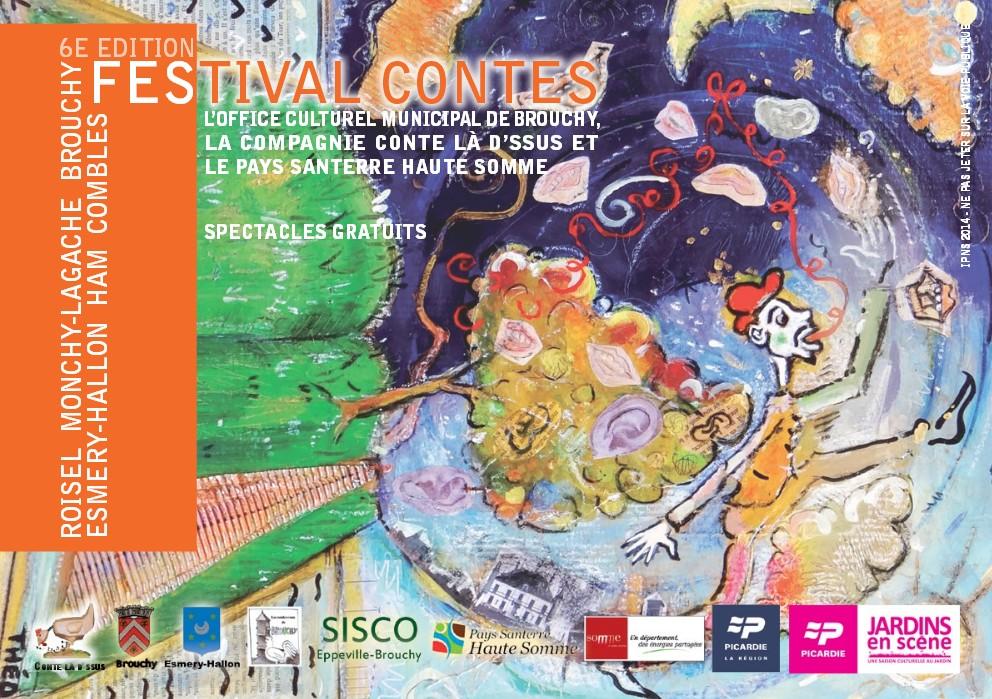 Concert de Jamlik au Festival de contes de Brouchy 2014